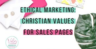 Ethical copywriting leaves everyone better than they were before, not just the eventual customers. That's how we bring our Christian ethics into marketing.